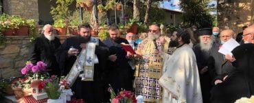 Τρίμηνο μνημόσυνο Καθηγουμένης Ιεράς Μονής Αγίου Παντελεήμονος Αχερά