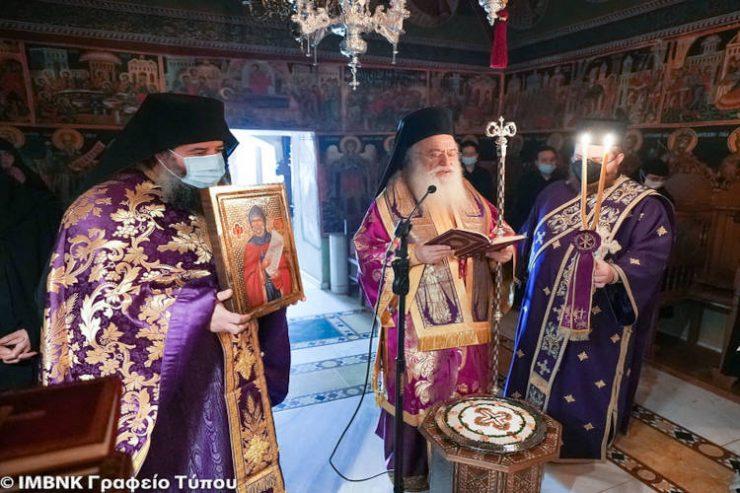 Πρώτη Προηγιασμένη στην Ιερά Μονή Αγίων Πάντων Βεργίνης (ΦΩΤΟ)