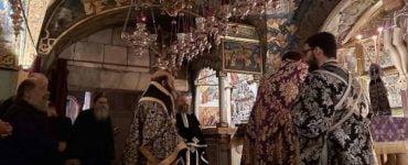 Η Πρώτη Λειτουργία των Προηγιασμένων Δώρων στο Πατριαρχείο Ιεροσολύμων