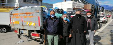 Αποστολή αγάπης της Μητροπόλεως Κίτρους στους σεισμόπληκτους της Ελασσόνας