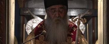 Μόρφου Νεόφυτος εκφωνεί το «Ευαγγέλιον της Διαθήκης»