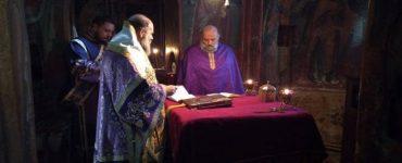 Εορτή Αγίου Ιερομάρτυρος Βασιλείου πρεσβυτέρου της Αγκυρανών Εκκλησίας στη Μονή Κοιμήσεως Θεοτόκου Ρεντίνης