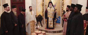 Η Εορτή των Αγίων Θεοδώρων στο Πατριαρχείο Αλεξανδρείας