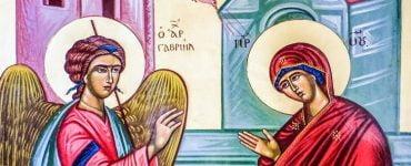 Χαράς ευαγγέλια Ευαγγελισμός της Υπεραγίας Θεοτόκου