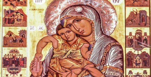 2 Απριλίου: Γ´ Χαιρετισμοί της Παναγίας