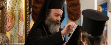 Ο Αρχιεπίσκοπος Αυστραλίας στην Ενορία του Αγίου Χαραλάμπους στο Templestowe της Μελβούρνης