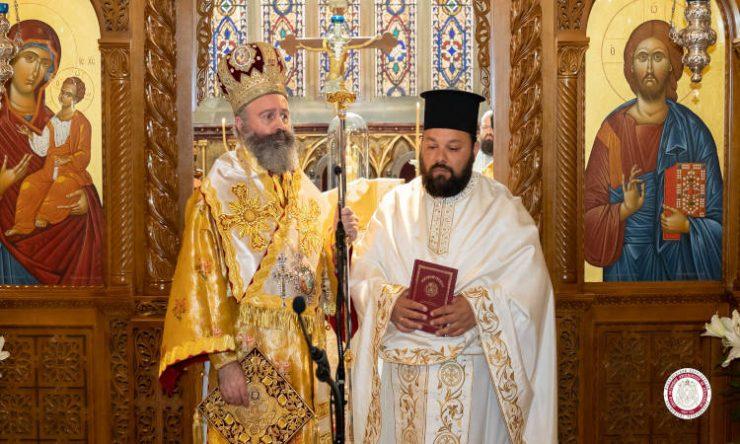 Ο Αρχιεπίσκοπος Αυστραλίας στο Λίβερπουλ για το διορισμό νέου ιερέως