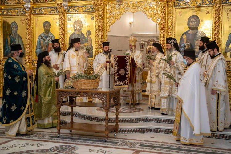 Η πρώτη Θεία Λειτουργία στον Νέο Καθεδρικό Ναό της Λευκωσίας