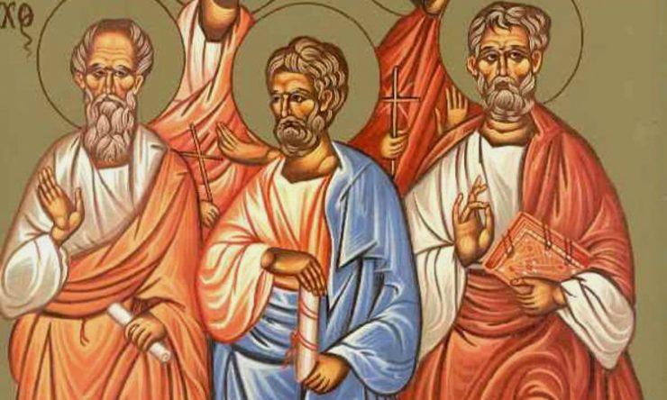 Εορτή Αγίων Αριστάρχου, Πούδη και Τροφίμου των Αποστόλων από τους εβδομήντα