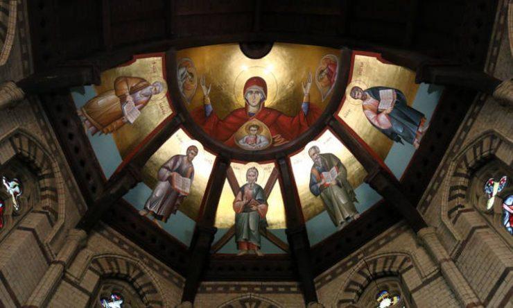 Δ΄ Κατανυκτικός Εσπερινός στην Αρχιεπισκοπή Θυατείρων