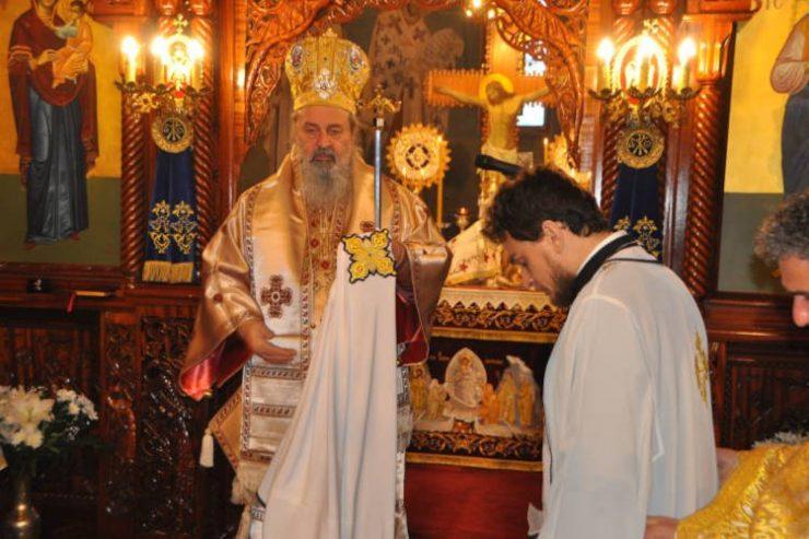 Χειροτονία στον εορτάζοντα Ιερό Ναό Αγίου Γεωργίου και δικαίου Λαζάρου Κουδουνίων