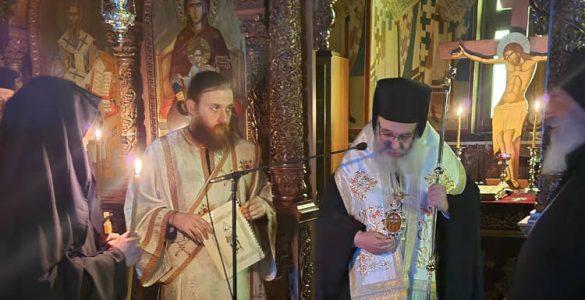 Κουρά μοναχής στην Ιερά Μονή Αγίου Ιλαρίωνος
