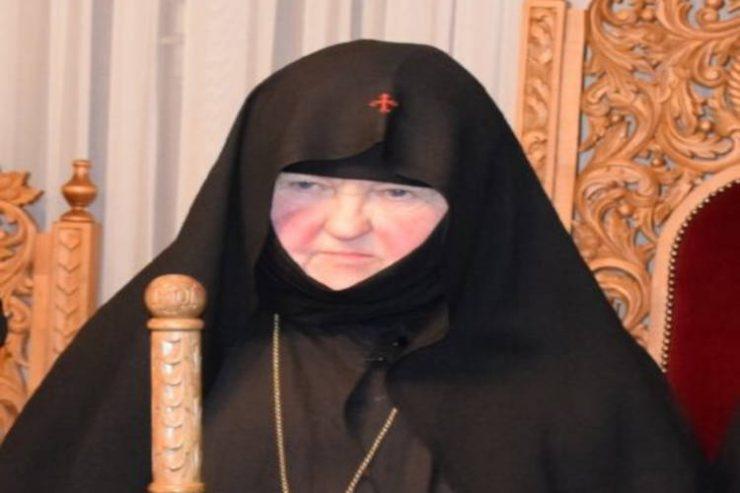 Εκδημία Καθηγουμένης Ιεράς Μονής Παναγίας Ολυμπιωτίσσης Ευλογίας μοναχής