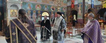 Προηγιασμένη Θεία Λειτουργία στον Άγιο Αχίλλιο Λαρίσης