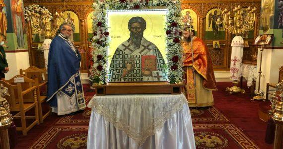 Εορτή Αγίου Ρούφου πρώτου Επισκόπου Θηβών
