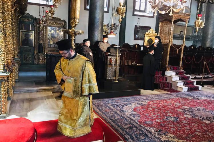 Κυριακή Ε´ Νηστειών στο Οικουμενικό Πατριαρχείο