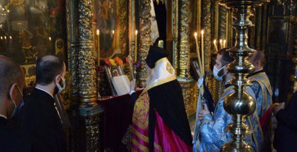 Η Ακολουθία του Ακαθίστου Ύμνου στο Οικουμενικό Πατριαρχείο