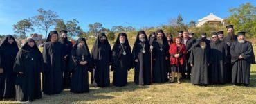 Χειροτονία Διακόνου στην Ιερά Μονή Αγίου Γεωργίου Yellow Rock από τον Αρχιεπίσκοπο Αυστραλίας