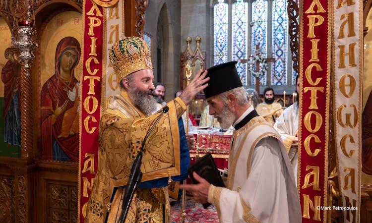Χειροτονίες Πρεσβυτέρου και Διακόνου στην Αρχιεπισκοπή Αυστραλίας