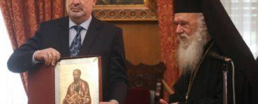 Ο Πρωθυπουργός του Μαυροβουνίου στον Αρχιεπίσκοπο