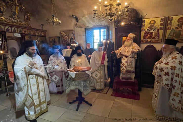 Εορτή Αγίου νεομάρτυρος Μάρκου του Kρητός στην Ιερά Μονή Τοπλού