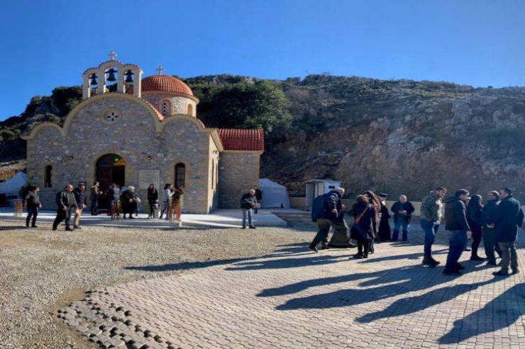Θεία Λειτουργία αύριο στο προσκύνημα του Οσίου Νικηφόρου του Λεπρού