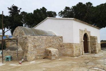 Το αρχαίο εξωκκλήσι του Αποστόλου Θωμά στο Κίτι Λάρνακας, που ανακαλύφθηκε το 2020