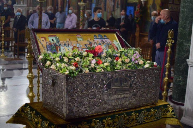 Με λαμπρότητα εορτάστηκε ο Άγιος Αχίλλιος στη Λάρισα