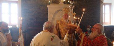 Λαμπρά πανηγύρισε η Ιερά Μονή Αγίας Ειρήνης Αποικίων Άνδρου