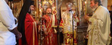 Λαμπρά πανηγύρισε η Ιερά Μονή Ζωοδόχου Πηγής Άνδρου