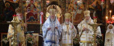 Πολυαρχιερατικό συλλείτουργο στην Ιερά Μονή Αγίας Τριάδος Τζαγκαρόλων Κρήτης