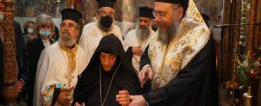 Ενθρόνιση νέας Ηγουμένης στην Ιερά Μονή Ζωοδόχου Πηγής Παναγίτσης Τρικάλων