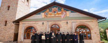 Εορτάστηκε μεθέορτα η μνήμη της Οσίας Ματρώνας στην Ιερά Μονή Αγίων Πάντων Βεργίνης