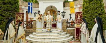 Πανηγύρισε η Ιερά Μονή της Παναγίας Δοβρά Βεροίας (ΦΩΤΟ)