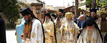 Πατριαρχική Θεία Λειτουργία στην Κανά της Γαλιλαίας