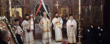 Λαμπρά πανηγύρισε η Ιερά Μονή Μεταμορφώσεως του Σωτήρος Χορτιάτη