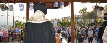 Πανηγυρικός Εσπερινός Αγίου Ιωάννου του Ρώσου στη Μητρόπολη Νεαπόλεως