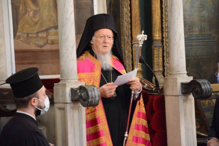 Ο Οικουμενικός Πατριάρχης εκφράζει τη συμπαράστασή του στους πυροπλήκτους Κορίνθου και Μεγάρων