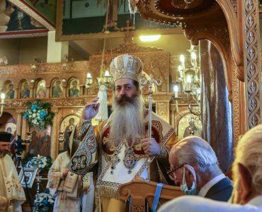 Φθιώτιδος Συμεών: Να μην ζούμε με το δικό μας πνεύμα, αλλά με το Άγιο Πνεύμα