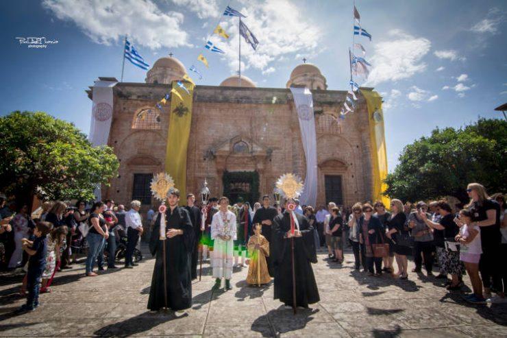Εορταστικό τριήμερο στην Ιερά Μονή Αγίας Τριάδος των Τζαγκαρόλων
