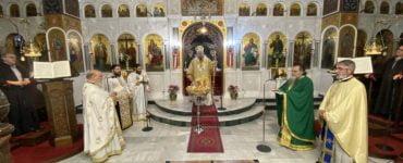 Εορτή Οσίων Άννας της Λαρισαίας και του υιού αυτής Ιωάννου στη Λάρισα