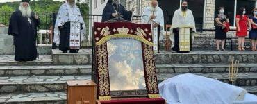 Πανήγυρις Ιεράς Εικόνος Παναγίας Ελεούσας στη Φιλύρα Τρικάλων