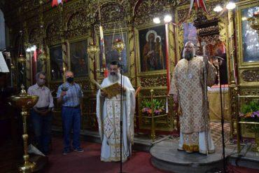 Πανηγυρική Ιερά Αγρυπνία Αγίας Καλλιόπης στα Τρίκαλα (ΦΩΤΟ)