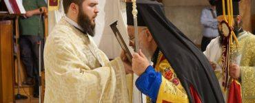 Ο Μητροπολίτης Ναζαρέτ στον Άγιο Βησσαρίωνα Τρικάλων