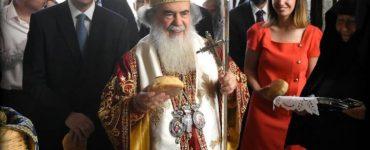 Η Εορτή των Αγίων Κωνσταντίνου και Ελένης στο Πατριαρχείο Ιεροσολύμων