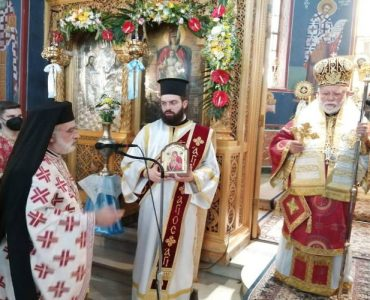 Η εορτή του Αγίου Πνεύματος στη Νέα Φιλαδέλφεια