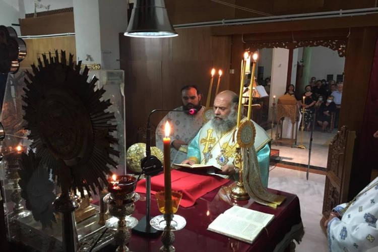 Αγρυπνία επί τη Σύναξει της Υπεραγίας Θεοτόκου «Άξιον Εστίν» στην Καρδίτσα