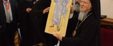 Ευχές προς τον Οικουμενικό Πατριάρχη για τα ονομαστήριά του