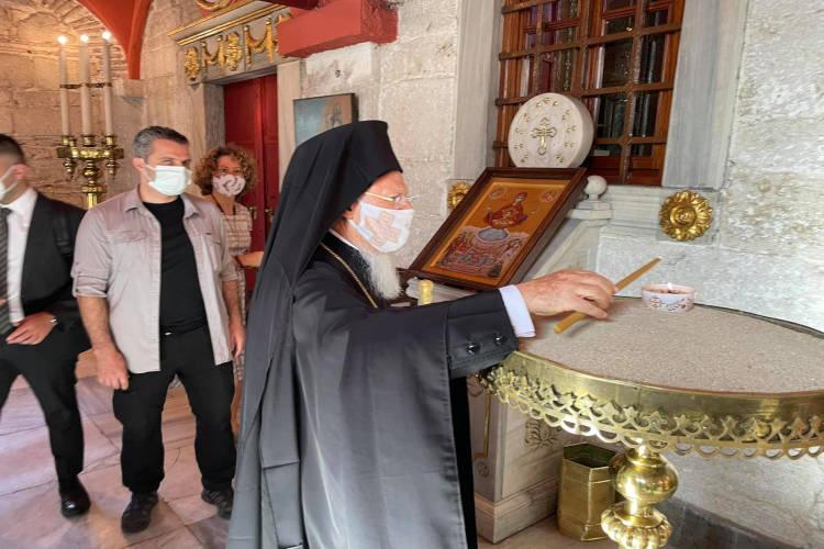 Εσπερινός Ονομαστηρίων του Οικουμενικού Πατριάρχη