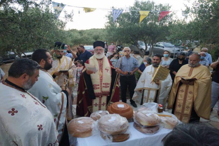 Εορτή Αγίας Μαρίας Μαγδαληνής στη Μητρόπολη Αρκαλοχωρίου